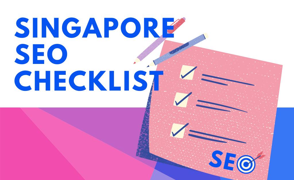 Singapore SEO Checklist - Blog Banner
